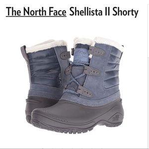 NIB North Face Shellista shorty boots gray black